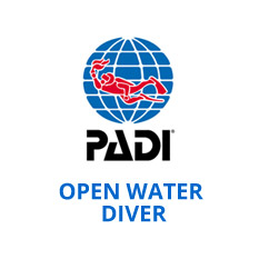 Open Water Diver $420,00 /Elearning $450,00